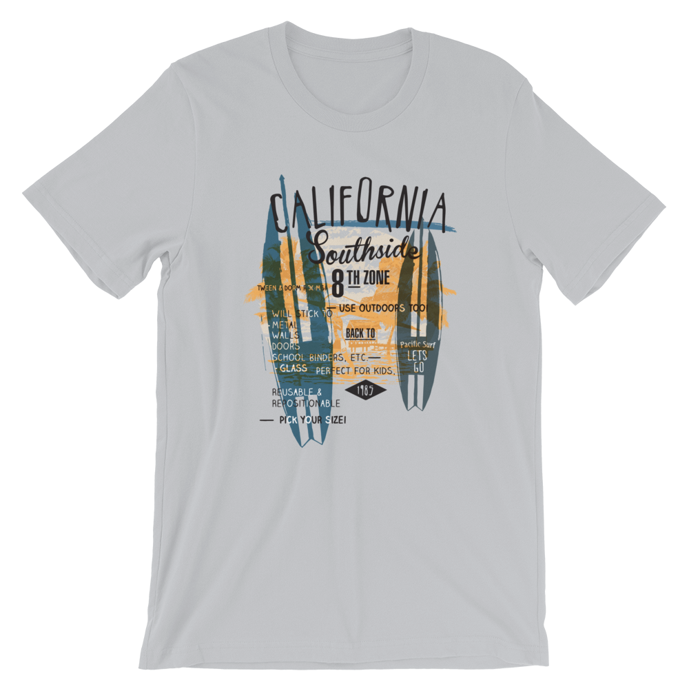 Men's Premium T-Shirt  – California Surf - Shirtbadass
