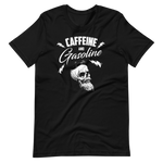 "Men's Premium T-Shirt – ""Caffeine And Gasoline"""