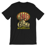 "Men's Premium T-Shirt – ""Motor Cycle Club"" - Shirtbadass"