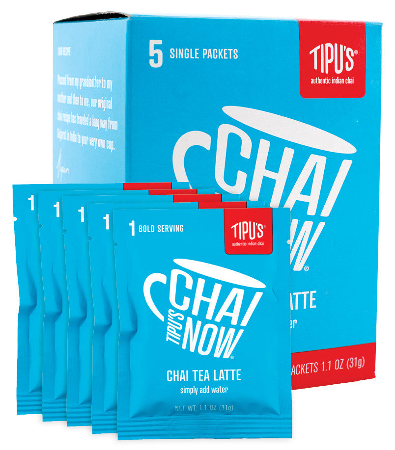 Tipu's Chai Now® Single Serve Original Chai Tea Latte