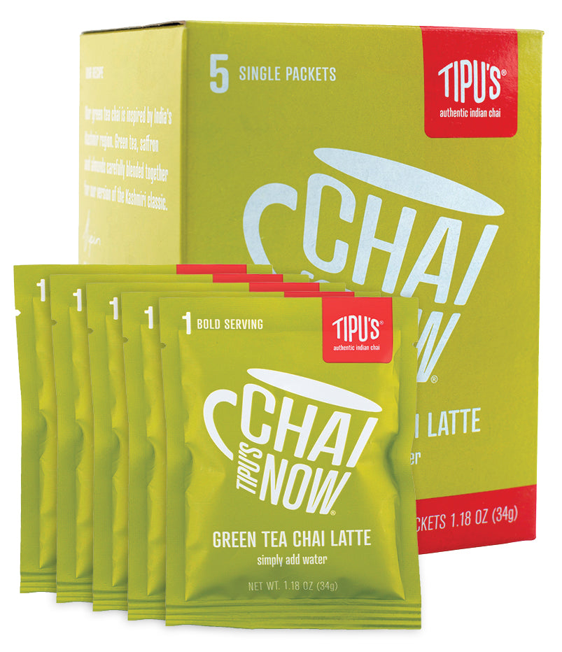 Tipu's Chai Now® Single Serve Kashmiri Chai Latte