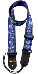 Starry Night Ukulele Strap