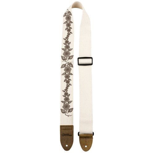 Luna Guitar Strap Cotton Cream