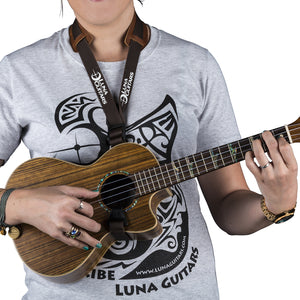 Luna Leather Uke Strap UK 2 BR