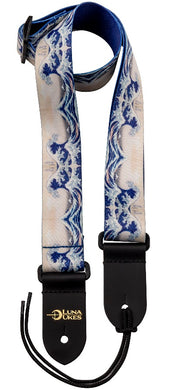 Luna Great Wave Ukulele Strap