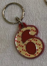 Load image into Gallery viewer, Kappa Alpha Psi Numbered Key Chains