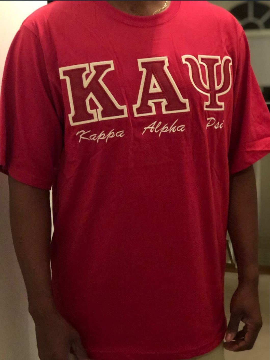 K A Psi Stitched T-Shirt