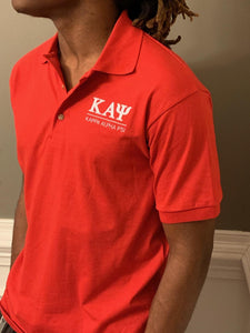 Red Kappa Polo