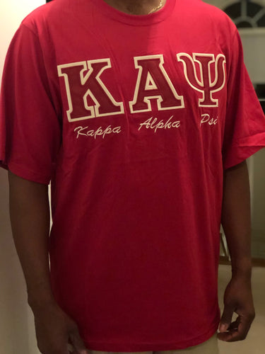 Red (K A Psi) T- Shirt