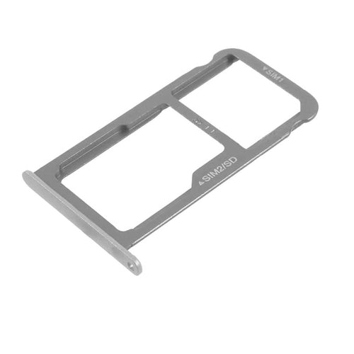 Dual Sim tray and MicroSD tray for Huawei P9  (EVA-L19), grey