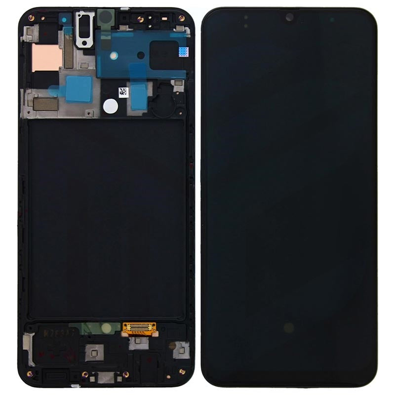 Display unit complete for Samsung Galaxy A50 SM-A505F, GH82-19204A