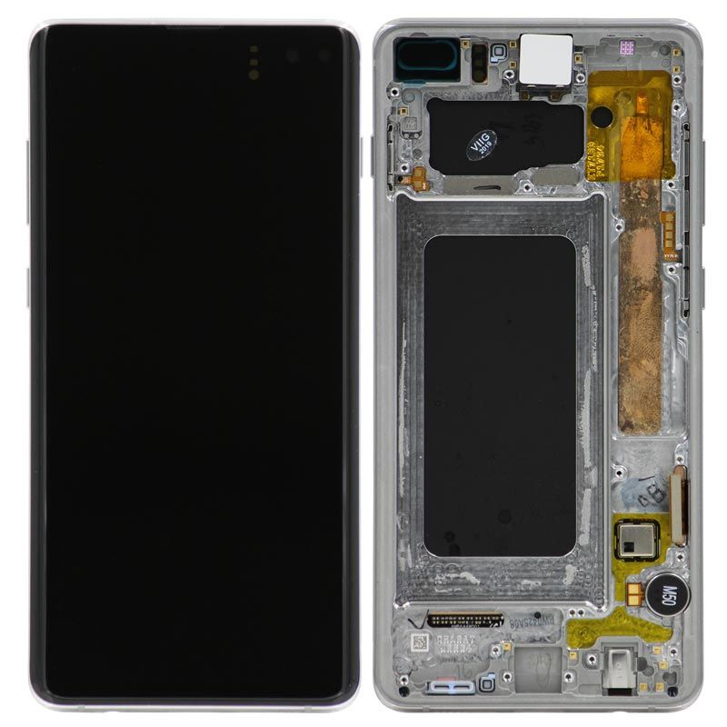 Display Screen LCD Assembly Replacement With Frame for Galaxy S10 Plus (SM-G975F)