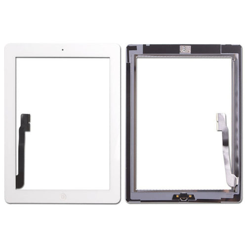 Premium Touch Digitizer Assembly With Home Button Flex And Adhesive for iPad 4