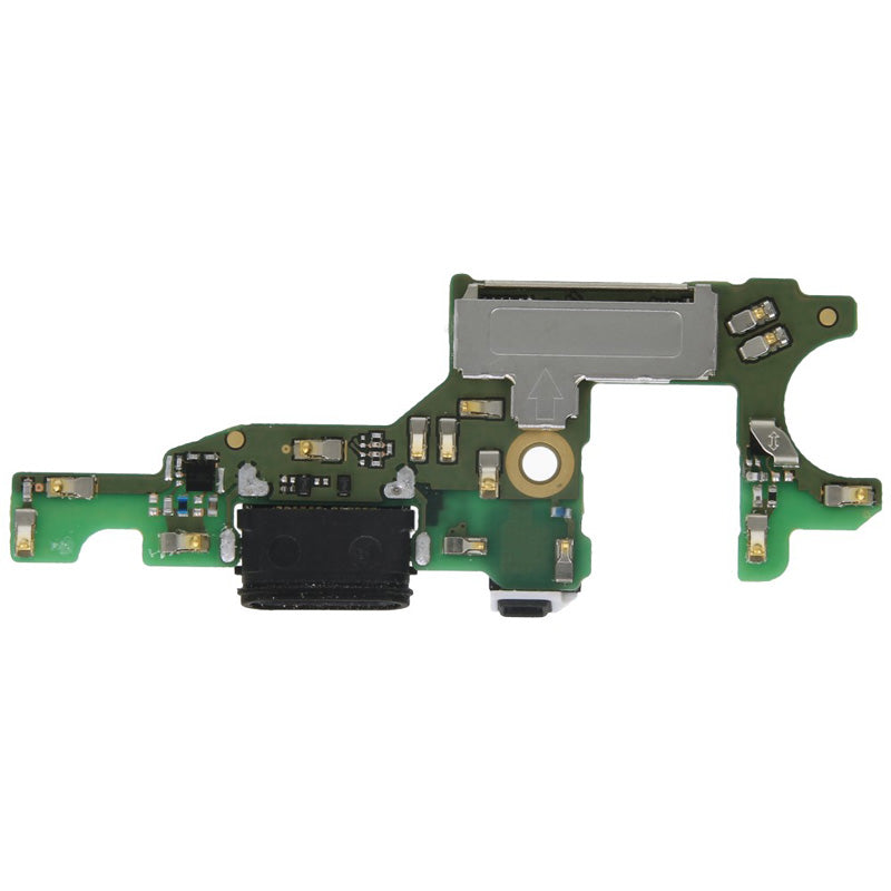 USB charging board incl. Audio connector black 02351GGB for Huawei Honor 8 Pro, Honor V9