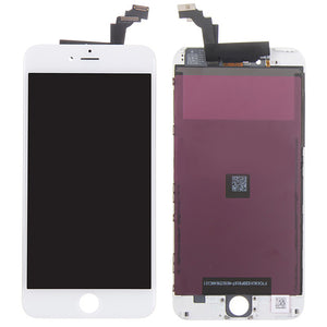 Original LCD Display Module + Digitizer Assembly for iPhone 6 Plus, Black / White