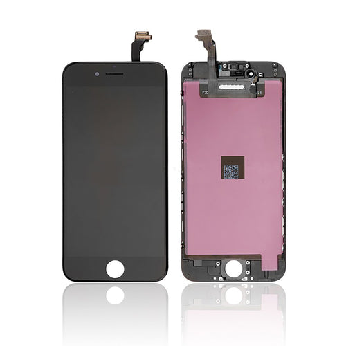 Original LCD Display Module + Digitizer Assembly for iPhone 6 , Black / White