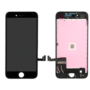 Original LCD Display Module + Digitizer Assembly for iPhone 7, Black / White