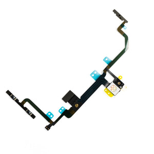 Power/Volume Button Flex Cable With Metal Bracket Assembly for iPhone 8 Plus