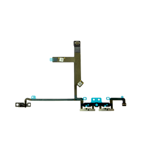 Volume Button Flex Cable With Metal Brackets for iPhone XS