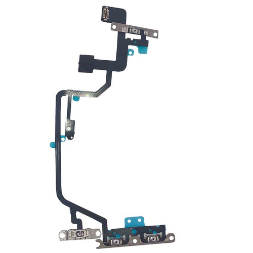 Power/Volume Flex Cable With Microphone for iPhone XR
