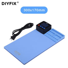 Load image into Gallery viewer, DIYFIX Universal CPB Mini 110V/220V Heating Pad For iPad iPhone Samsung Phone LCD Screen Separator Professional Repair Tool Mat