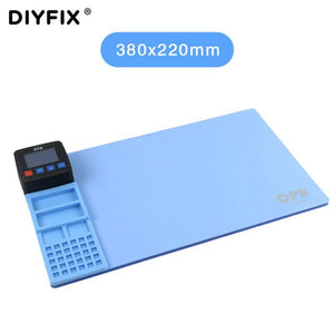 DIYFIX Universal CPB Mini 110V/220V Heating Pad For iPad iPhone Samsung Phone LCD Screen Separator Professional Repair Tool Mat