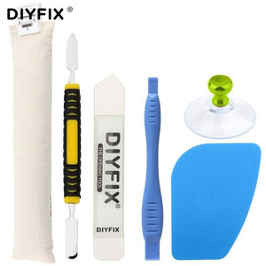 Ufix Melt Bag Split Screen Heating Strip Disassemble Tool For iPhone ipad 234 Screen Remover Suction Cup Knife Opening Tool Set