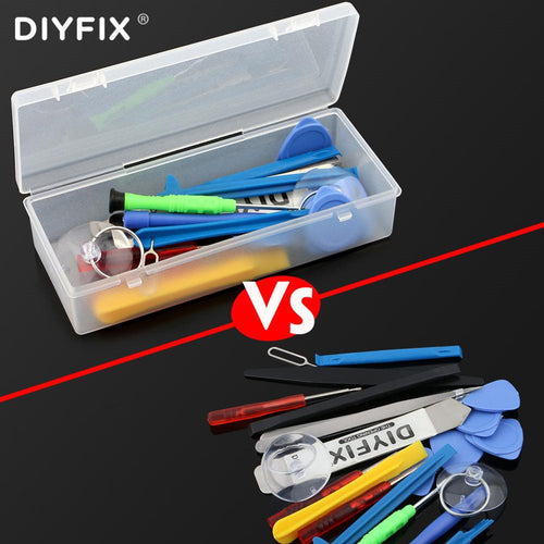 Plastic Tool Storage Box for Terminal Phone Screwdriver Set Screws IC Box Craft Organizer Small Part Container Case Hand Tool