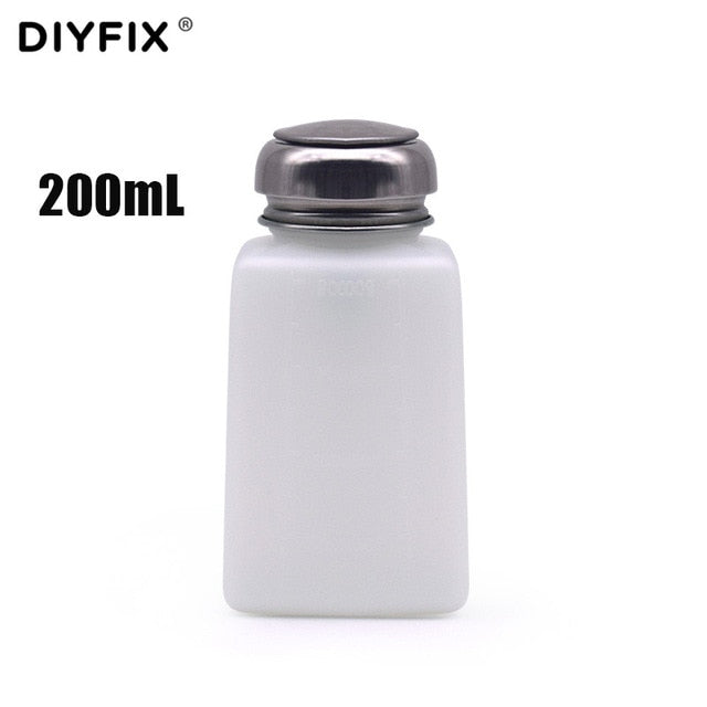 DIYFIX 150ML Press-type Glass Alcohol Bottle Anti-static Plate Washing Water Bottle Mobile Phone Repair Copper Cleaning Tool
