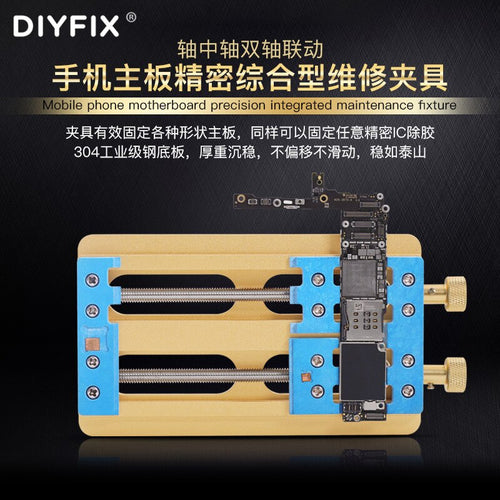 DIYFIX High-Temperature Resistance Mobile Phone Motherboard Dual-bearing Fixture Platform For iPhone X XS XR XS MaxPCB IC Holder