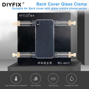 For iPhone Android Mobile Phone Repair Holder For the Back Cover Glass Fixture Remove The Glass Shovel Broken Glass Fixing Tool
