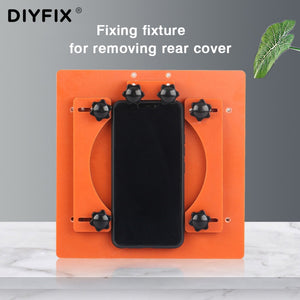 DIYFIX Adjustable Fixing Fixture For Removing Rear Cover Screen Repair Holder For iPhone 8 8plus X XS XR XS Max Clamp Hand tool
