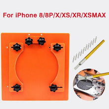 Load image into Gallery viewer, DIYFIX Adjustable Fixing Fixture For Removing Rear Cover Screen Repair Holder For iPhone 8 8plus X XS XR XS Max Clamp Hand tool
