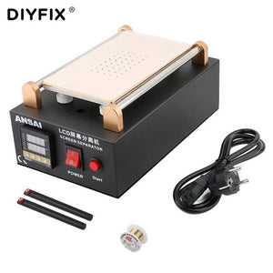 DIYFIX LCD Separator Build-in Vaccum Pump Touch Screen Separating Machine For iPhone Samsung Touch Screen Glass Power Tools