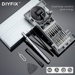 27 in1 Precision Screwdriver Set For iPhone Xiaomi Huawei Mobile Phone Glasses Watches Household Multi-function Repair Hand Tool