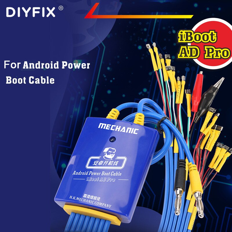 Mechanic AD Max For iPhone Samsung Huawei Vivo Android Mobile Phone Repair Power Test line DC Power Supply Delicated iBoot Wire