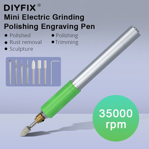 DIYFIX Multifunction Electric Rechargeable Engraving Pen For Mobile Phone Repair Polishing Cutting Grinding Pen Household Tool