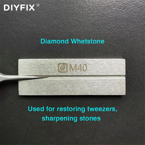 Diamond Whetstone For Dressing Tweezers Knife harpening Blades Double-sided Tweezers Polishing Repairer Grinding Sharpener Tool