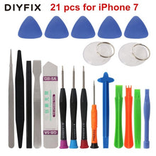 Load image into Gallery viewer, DIYFIX 45 in 1 Mobile Phone Repair Tool Screwdriver Kit for iPhone iPad xiaomi Pry Opening Tablet PC Small Toys Hand Tools Sets