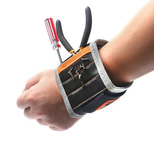 "JAKEMY JM-X5 14.6"" Magnetic Wrist Band Wristband Bracelet Belt Pocket Tool for Holding Screw Nail Drill Bit Repair Tools"