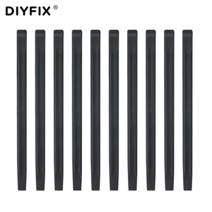 DIYFIX 10Pcs Anti-static Nylon Probe Plastic Spudger Pry Tool for iPhone Mobile Cell Phone Repair Opening Tool Set