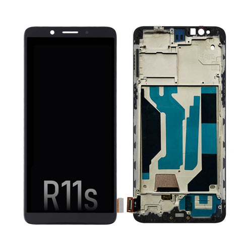 LCD Screen Digitizer with Frame for OPPO R11s