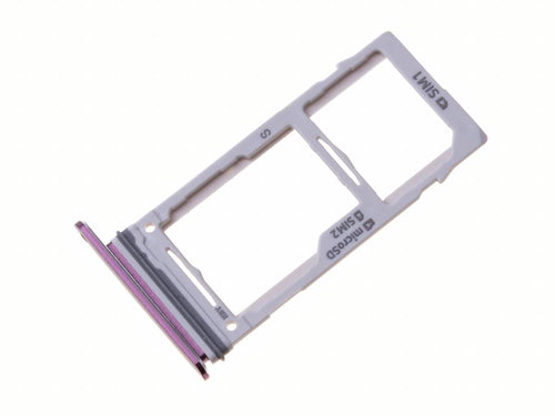 Sim tray + MicroSD tray for Galaxy S9 Plus Duos (SM-G965FD)