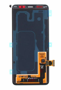 Display module LCD + Digitizer black for Samsung Galaxy A8 2018 (SM-A530F), GH97-21406A