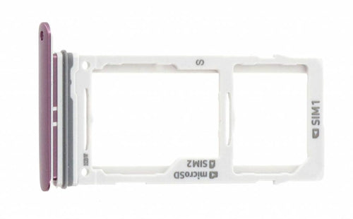 Sim tray + MicroSD tray for Samsung Galaxy S9 Duos (SM-G960FD)