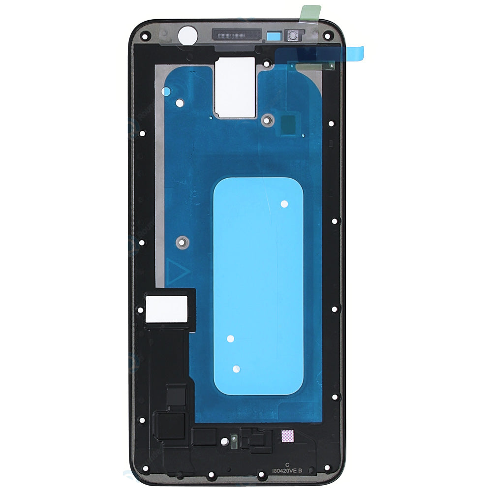 Middle cover black for Samsung Galaxy A6+ 2018 (SM-A605FN), GH98-42877A