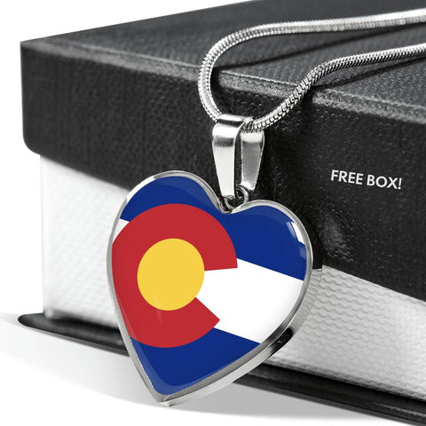 Heart Colorado Necklace