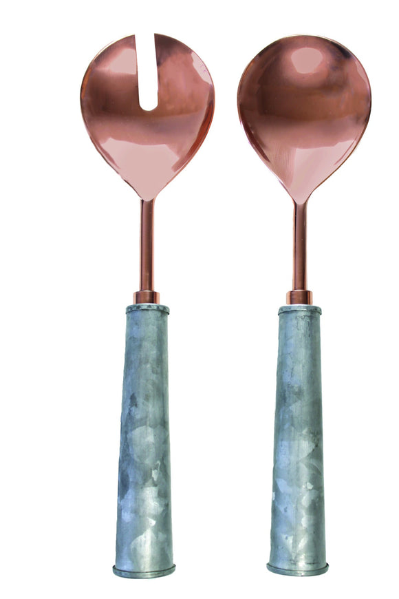 GI & Copper Serving Set