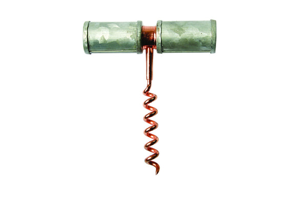 GALVANIZED IRON & Copper Corkscrew