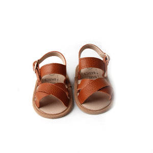 Strappy Leather Baby Sandals